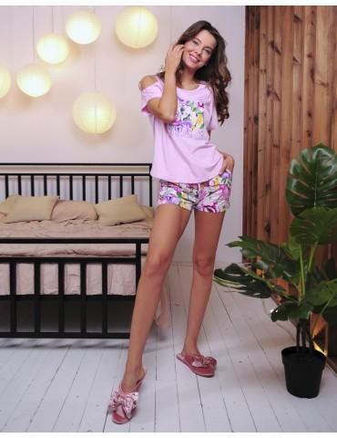 INDEFINI Пижама с шортами TBD0021