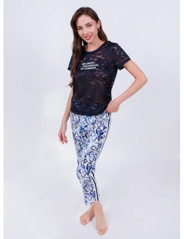 INDEFINI Пижама с брюками TBC0054
