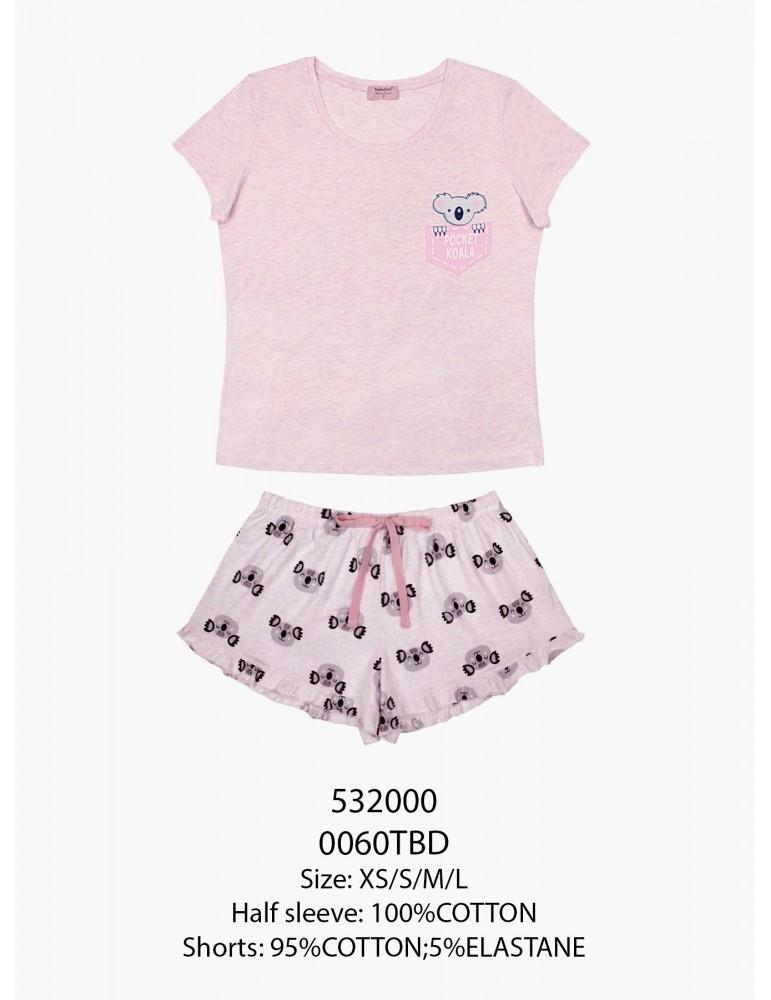 INDEFINI Пижама с шортами TBD0060