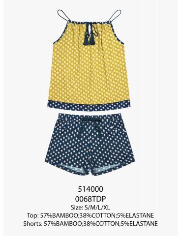 INDEFINI Пижама с шортами TDP0068