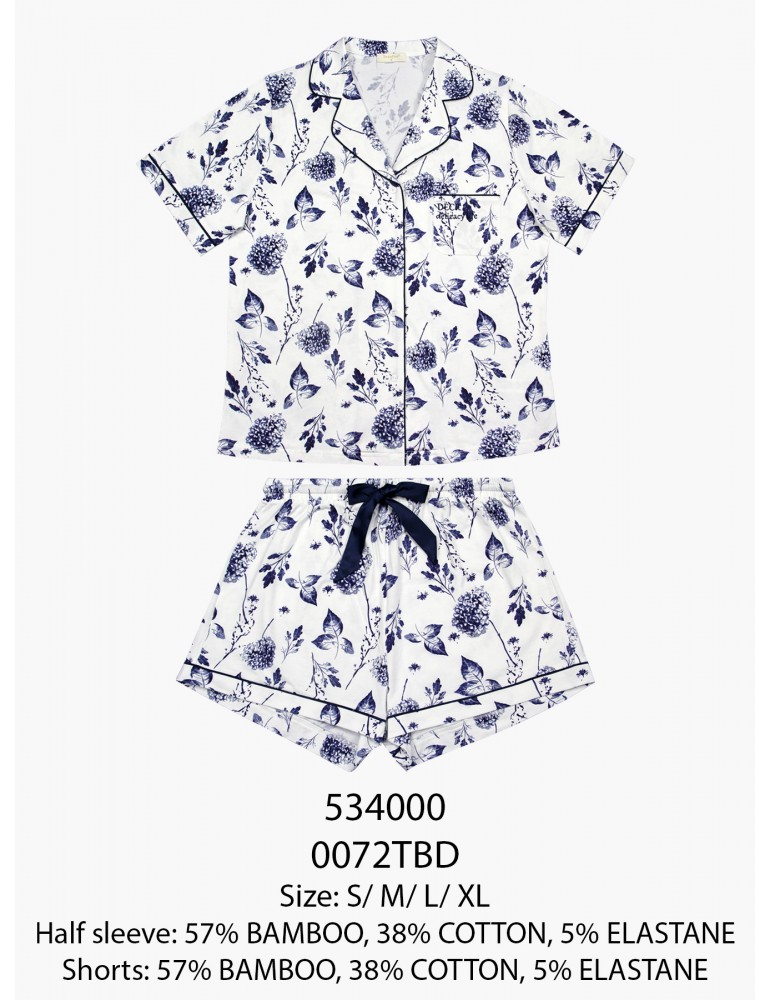 INDEFINI Пижама с шортами TBD0072