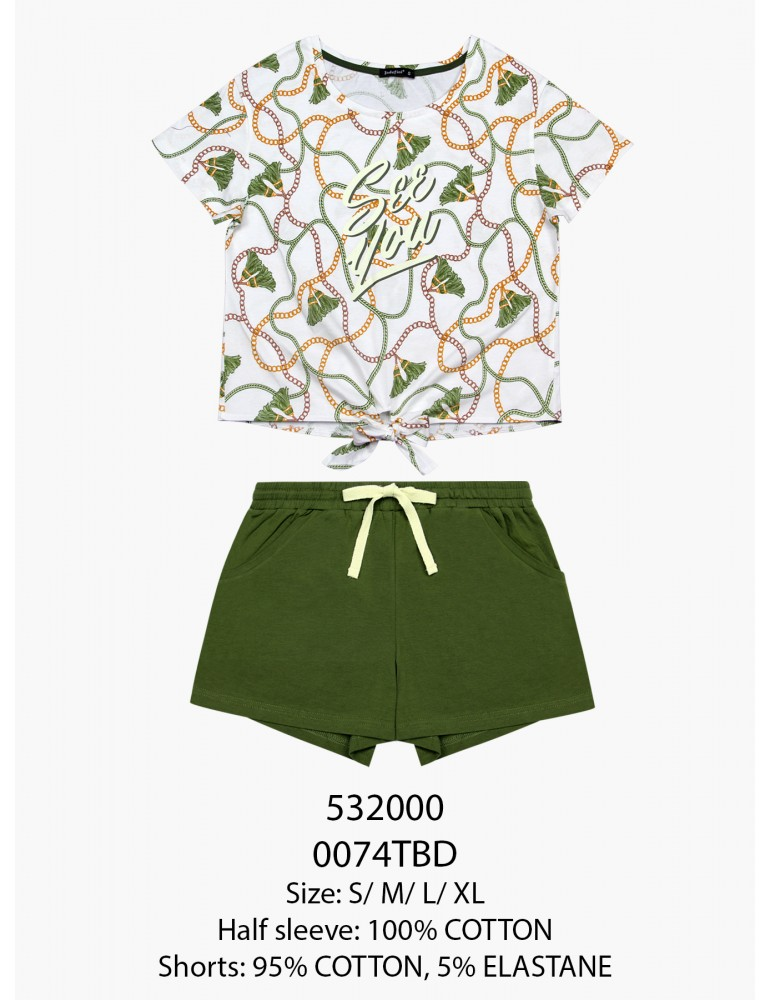 INDEFINI Пижама с шортами TBD0074