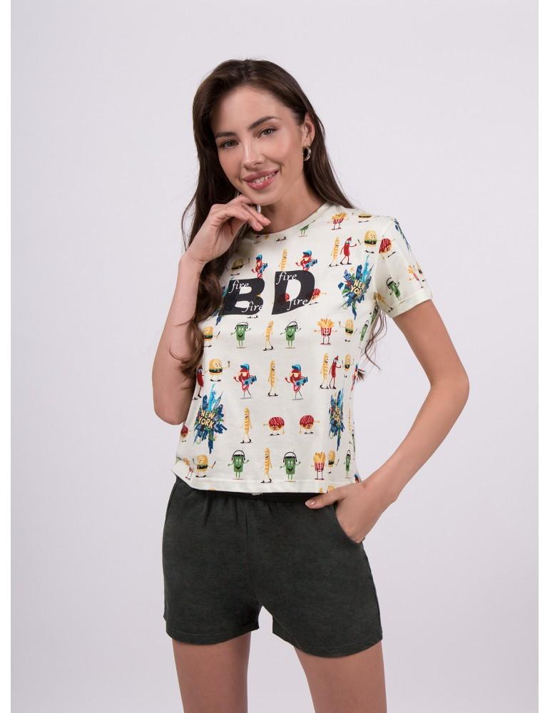 INDEFINI Пижама с шортами TBD0080