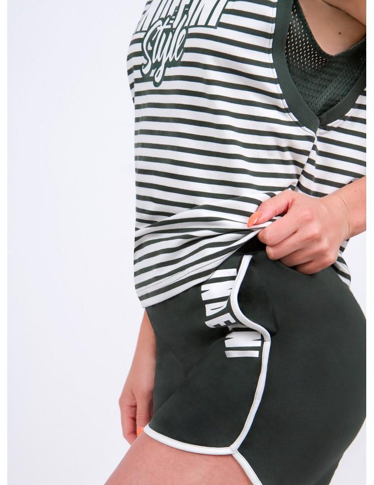 INDEFINI Пижама с шортами TBP0082