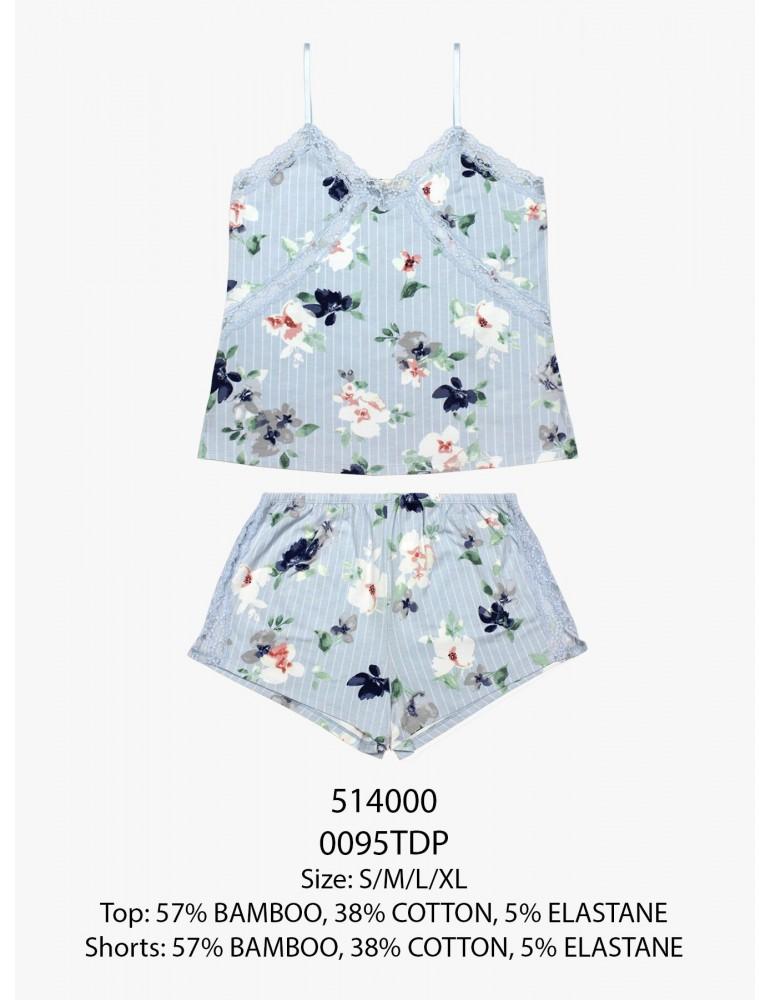 INDEFINI Пижама с шортами TDP0095