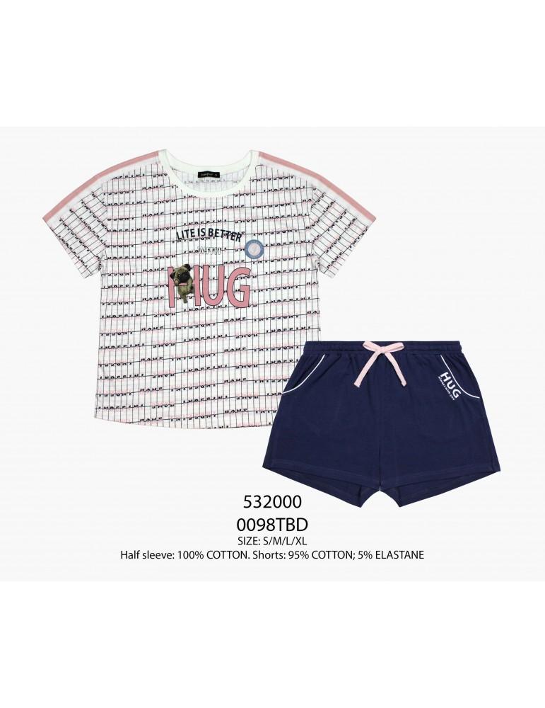 INDEFINI Пижама с шортами TBD0098