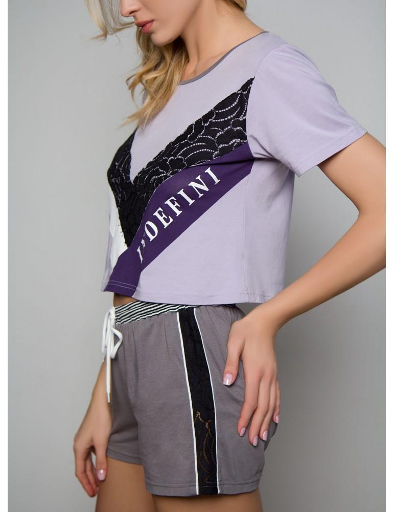 INDEFINI Пижама с шортами TBD0105