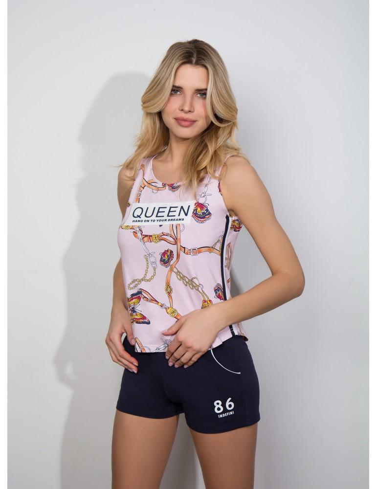 INDEFINI Пижама с шортами TBP0106