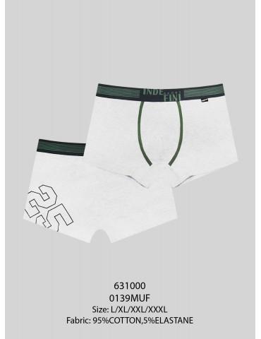 INDEFINI Мужские боксеры  MUG0139