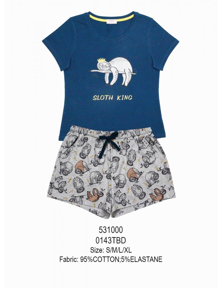 INDEFINI Пижама с шортами TBD0143