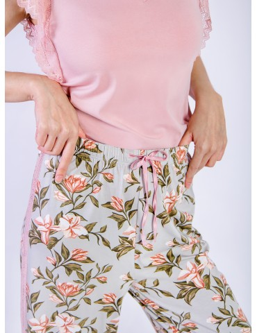 INDEFINI Пижама с брюками TBZ0165