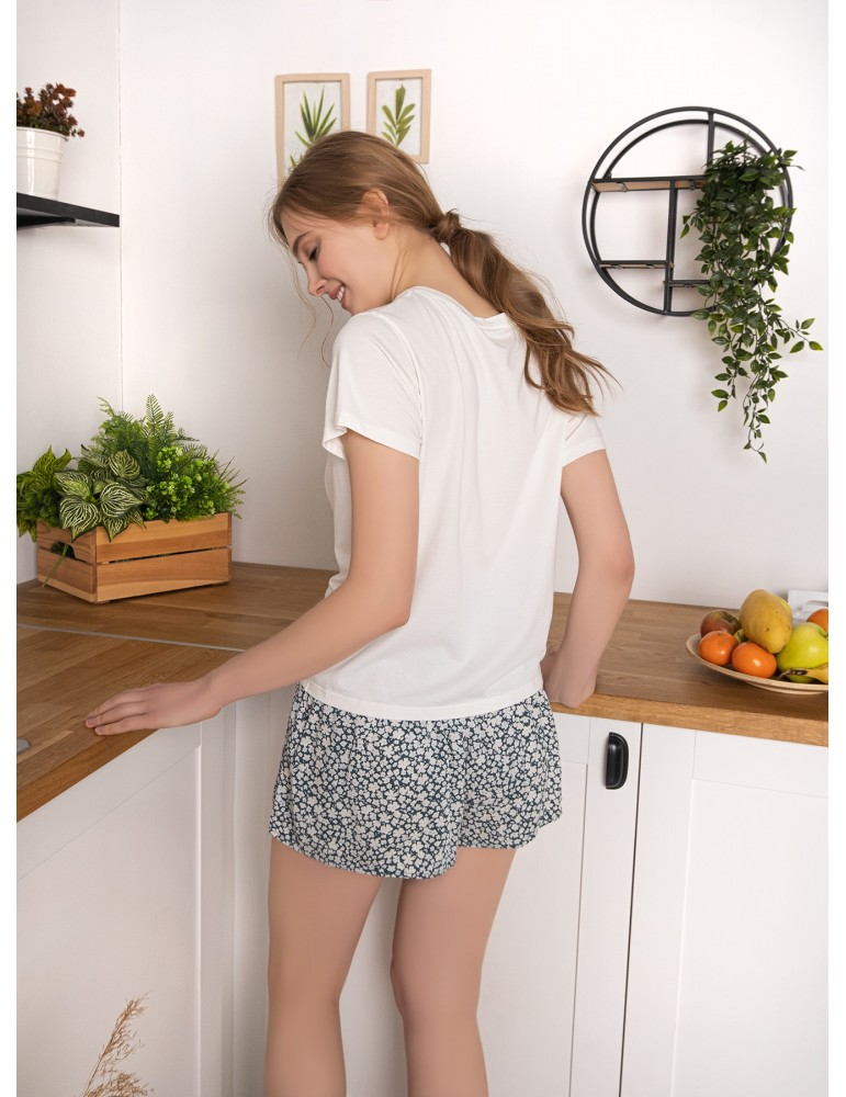 INDEFINI Пижама с шортами TBD0197