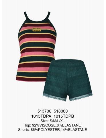 INDEFINI Пижама с шортами TDP1015
