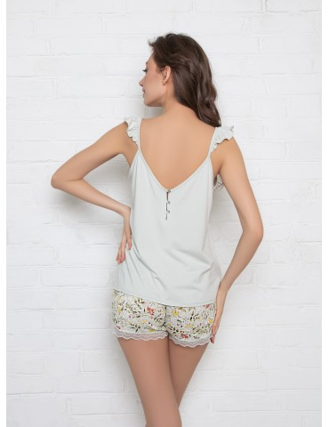 INDEFINI Пижама с шортами TDP1017