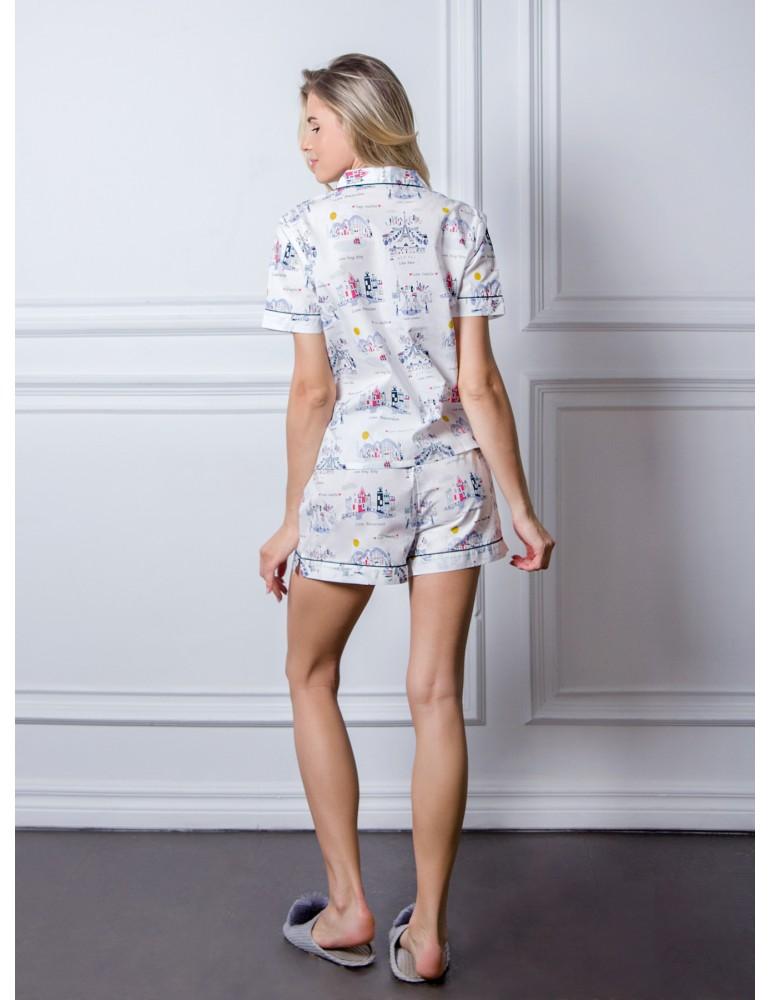 INDEFINI Пижама с шортами TBD1018