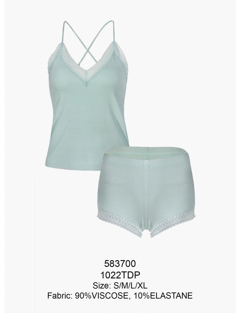 INDEFINI Пижама с шортами TDР1022