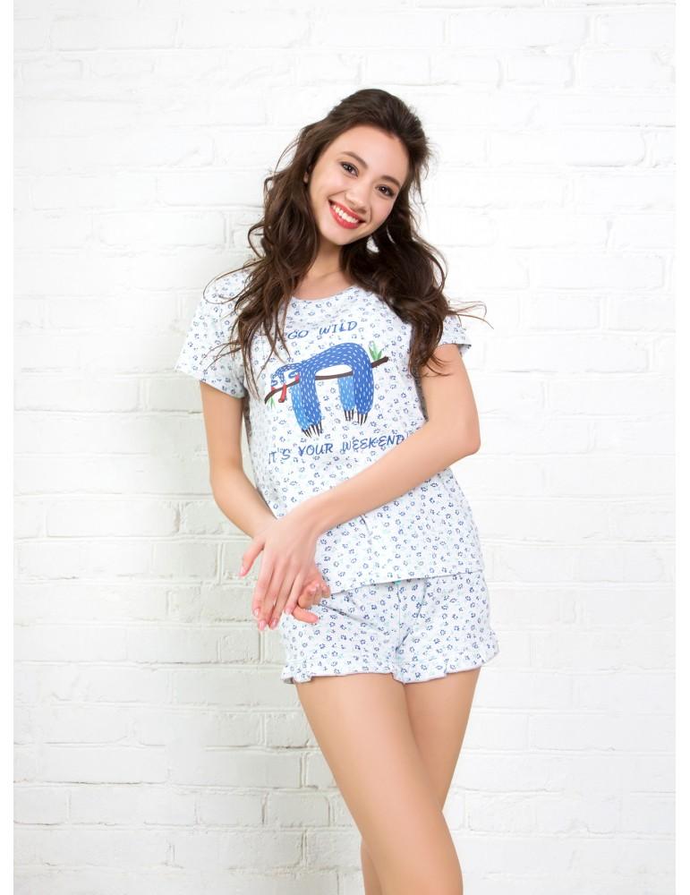 INDEFINI Пижама с шортами TBD1025