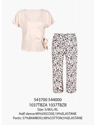 INDEFINI Пижама с бриджами TBZ1037