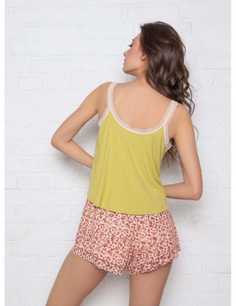 INDEFINI Пижама с шортами TDP1041
