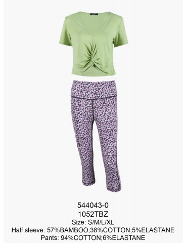 INDEFINI Пижама с бриджами TBZ1052