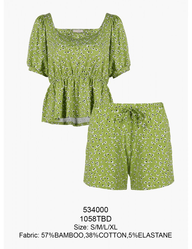 INDEFINI Пижама с шортами TBD1058