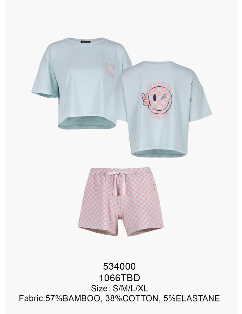 INDEFINI Пижама с шортами TBD1066