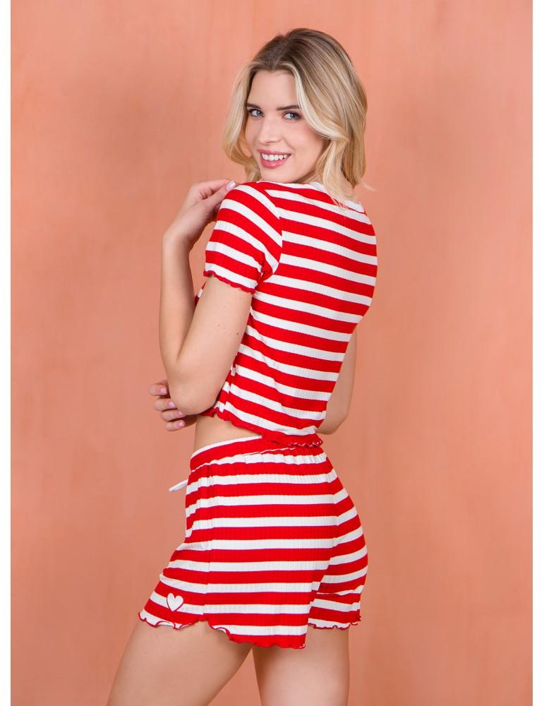 INDEFINI Пижама с шортами TBD1068