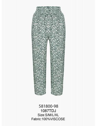 INDEFINI Брюки пижамные TDJ1087