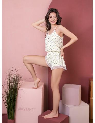 INDEFINI Пижама с шортами WLT1106