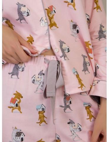 INDEFINI Пижама с брюками TСC1138