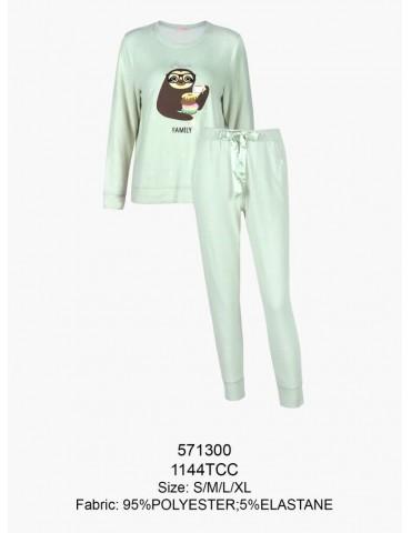 INDEFINI Пижама с брюками TCC1144