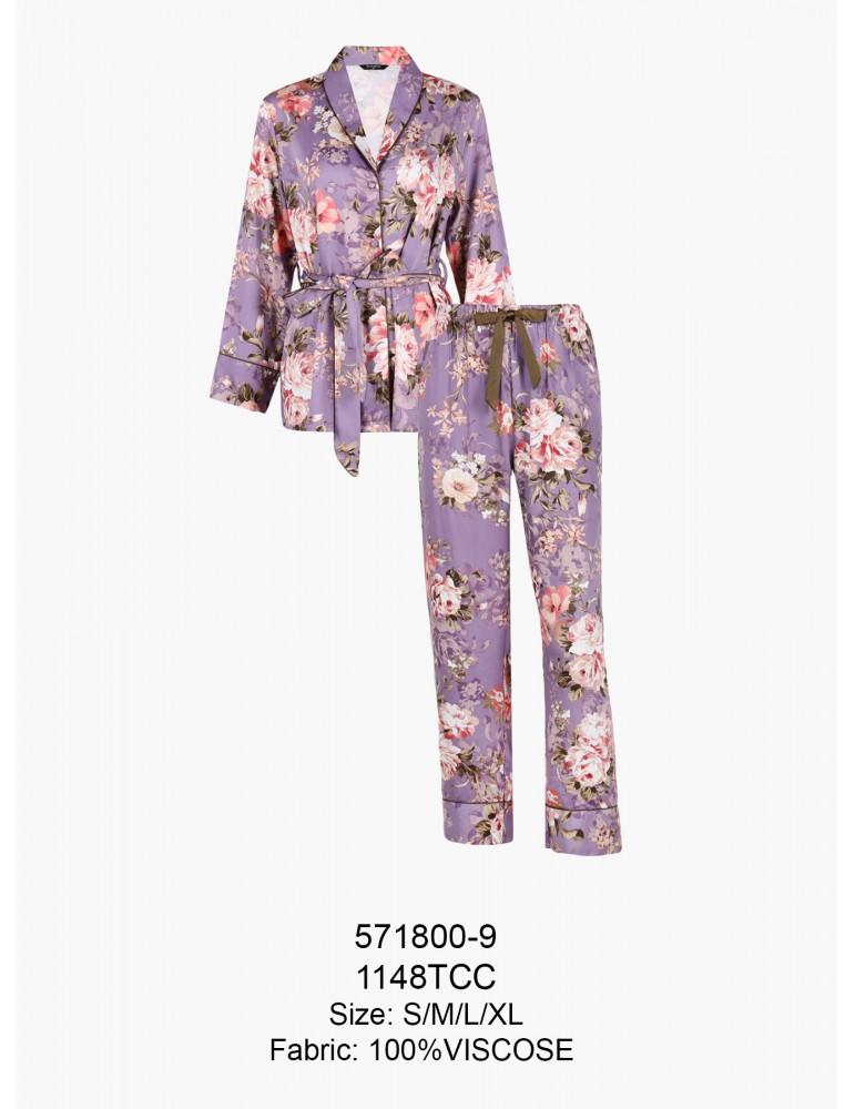 INDEFINI Пижама с брюками TCC1148