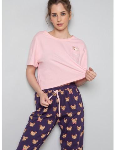 INDEFINI Пижама с брюками TBС1172