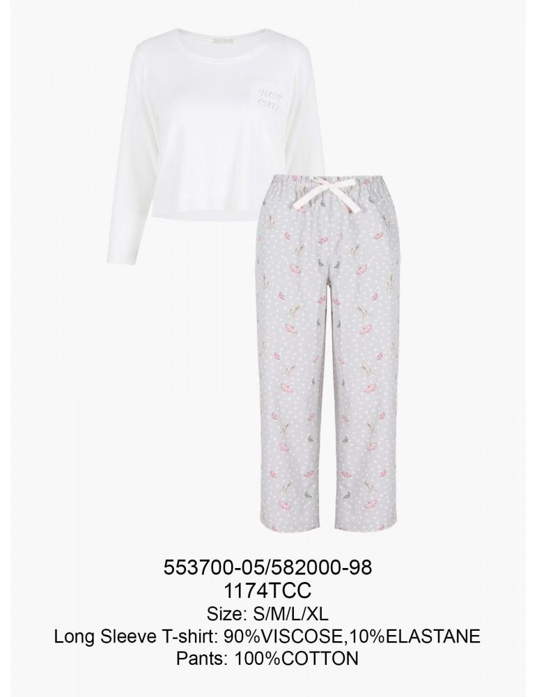 INDEFINI Пижама с брюками TCC1174