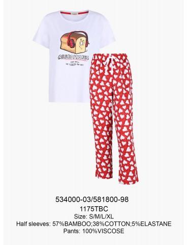 INDEFINI Пижама с брюками TBC1175