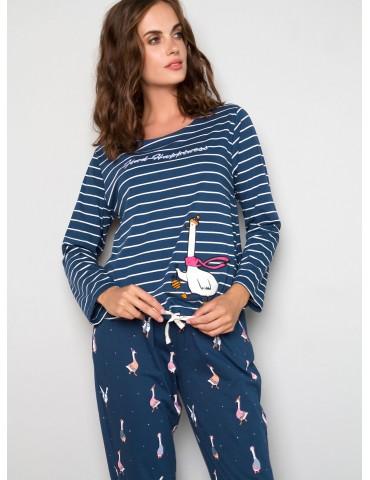INDEFINI Пижама с брюками TCC1183