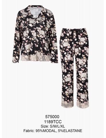 INDEFINI Пижама с брюками TCC1189
