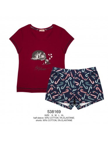INDEFINI Пижама с шортами TBD8169