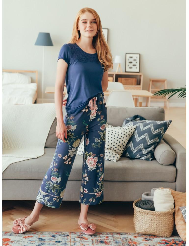 INDEFINI Пижама с бриджами 548106