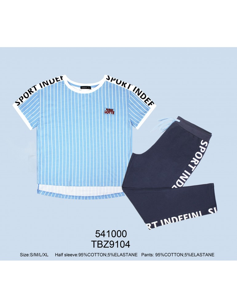 INDEFINI Пижама с бриджами TBZ9104