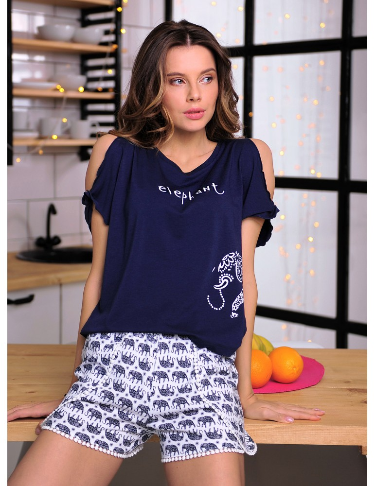 INDEFINI Пижама с шортами TBD9115