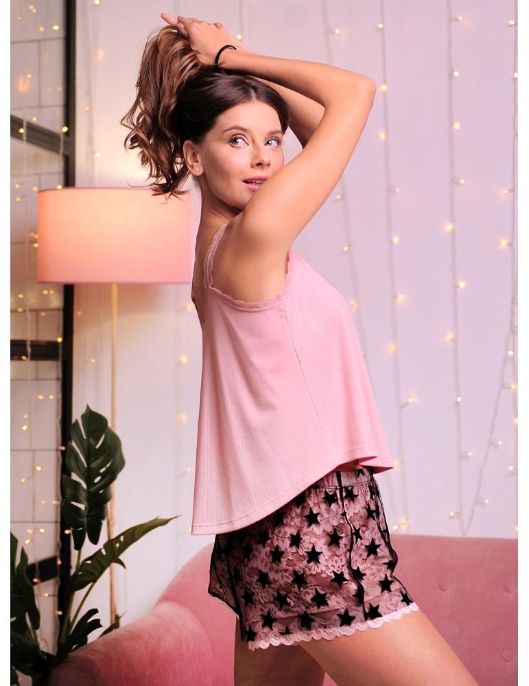 INDEFINI Пижама с шортами TDP0015