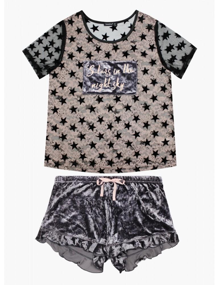 INDEFINI Пижама с шортами TBD0016