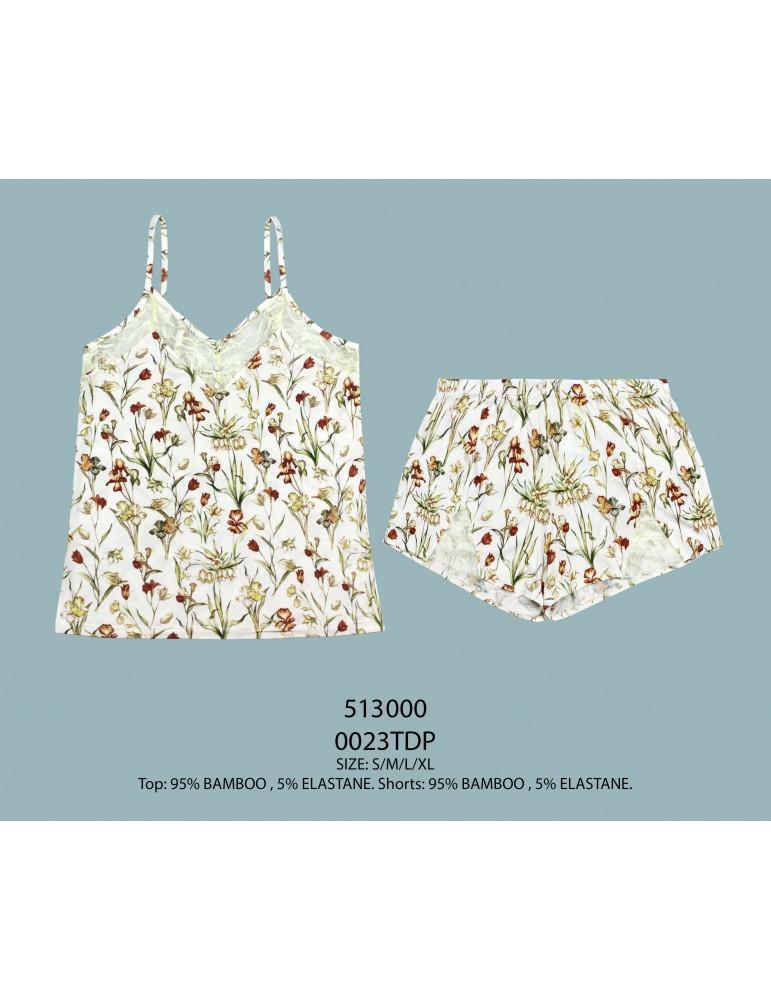 INDEFINI Пижама с шортами TDP0023