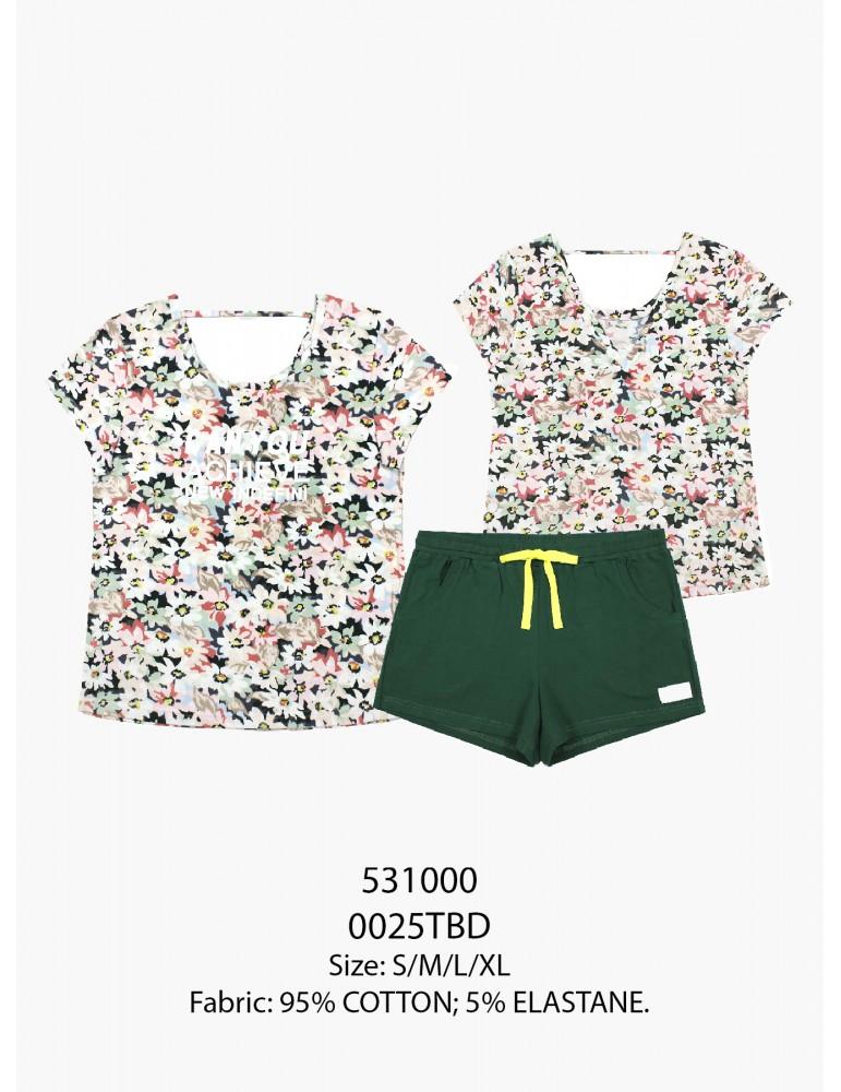 INDEFINI Пижама с шортами TBD0025