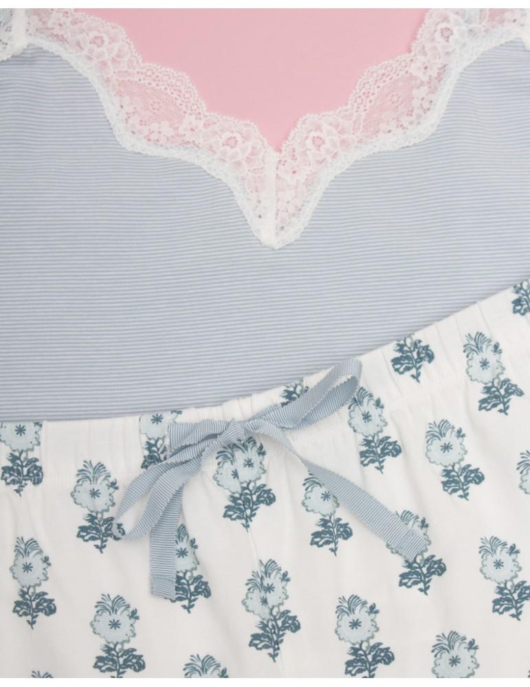 INDEFINI Пижама с шортами TDP0038
