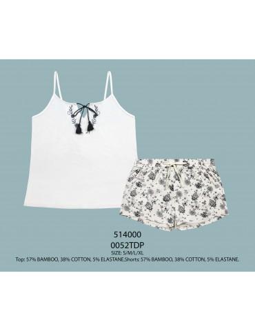 INDEFINI Пижама с шортами TDP0052