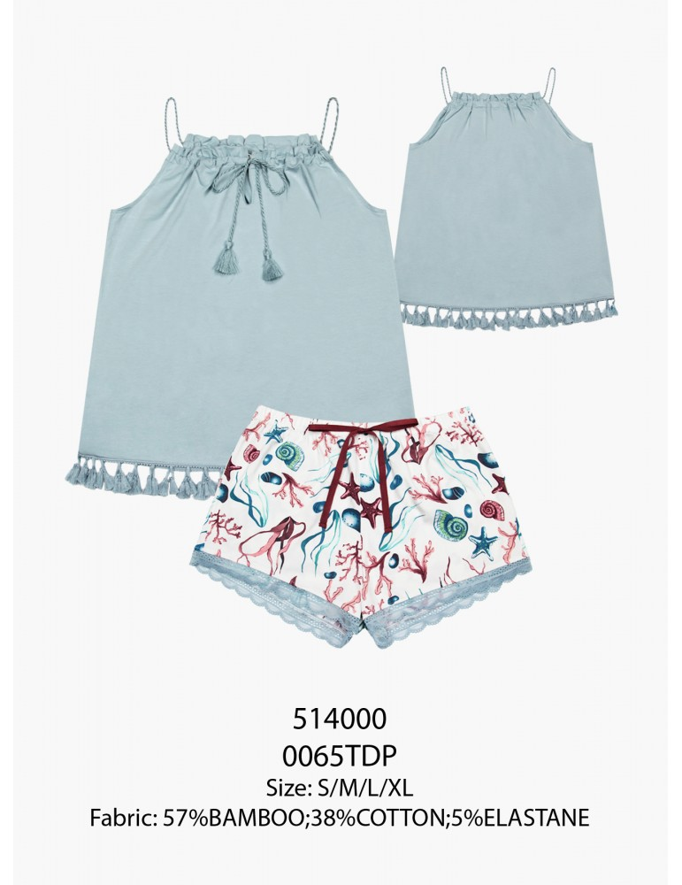 INDEFINI Пижама с шортами TBP0065