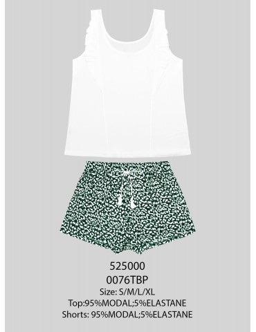 INDEFINI Пижама с шортами TBP0076