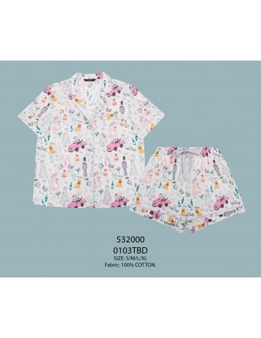 INDEFINI Пижама с шортами TBD0103